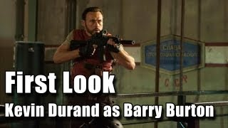 Resident Evil Retribution - First Look at Kevin Durand as Barry Burton