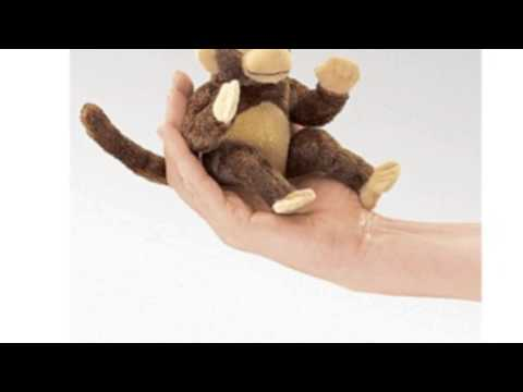 Video Video ad for the Mini Monkey Finger Puppet