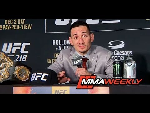 Max Holloway Takes a Shot at Conor McGregor While Talking About Potential Rematch