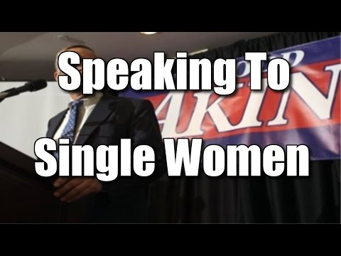 Speaking To Single Women – The Refinery 9/23/14 (SNIP)