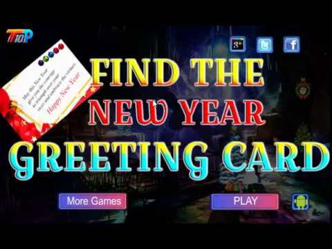 Find The New Year Greeting Card Walkthrough