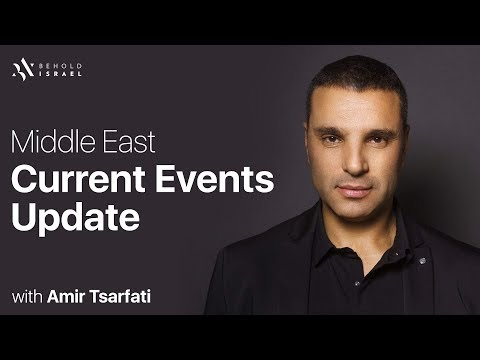 Middle East Current Events Update, April 8, 2018.