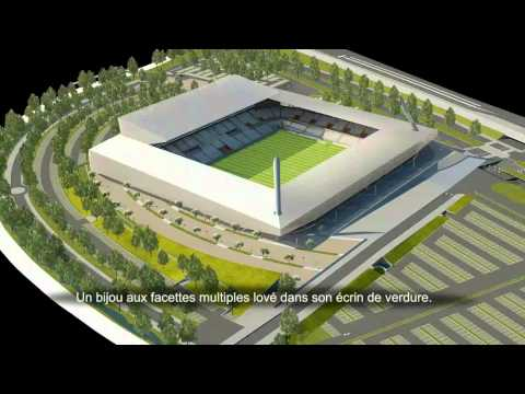 Architecte stades / Agence Architecture sport : Design Competition video for the Havre Stadium