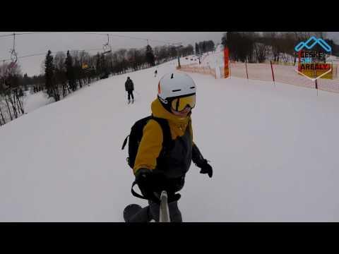 Ski Černý Důl Mapérky 2016
