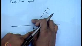 Mod-01 Lec-19 Three Body Problem (Contd...7)
