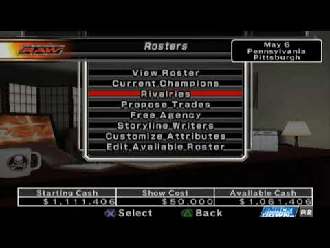 NFW Plays - Smackdown vs Raw 2007 - GM Mode Episode #6