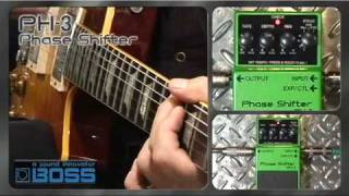 Boss PH-3 Phase Shifter Video