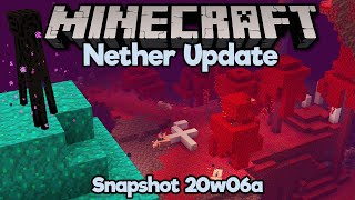 Nether Update Snapshot! • New Biomes, Blocks, & Tools! • Minecraft 20w06a (1.16) Feature Overview