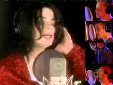 michael jackson, mariah carey, beyonce knowels, celine dion & friends  what more can i give.mpeg