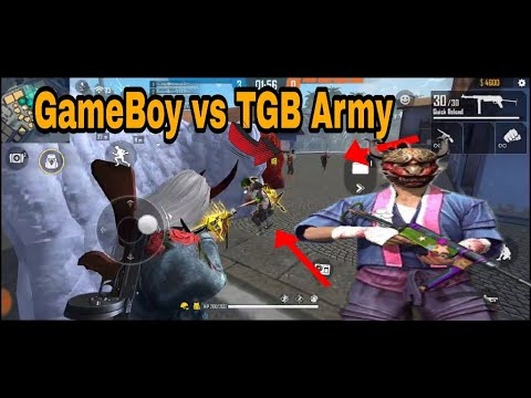Free Fire || GameBoy vs TGB Army || Clash Squad || Tips and tricks || mobile Give Away