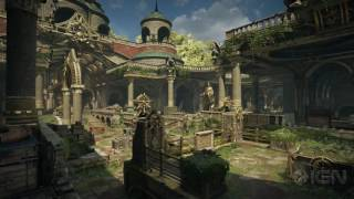 Gears of War 4: Relic Multiplayer Map Flythrough by IGN