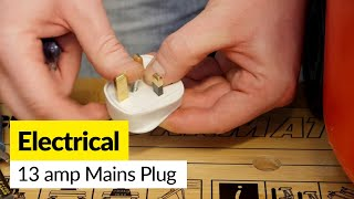 For electrical plugs and connectors go to: http://bit.ly/2nk2dKLMany appliances are now supplied with a 'moulded' mains plug that cannot be opened. If the plug gets damaged,  Mat shows how it can easily be replaced.