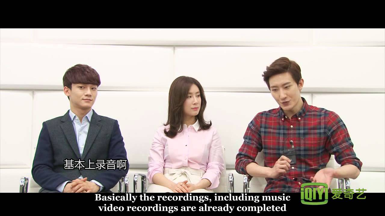 [engsub] 140306 iQiyi Interview with Zhoumi,EXO Chen and Zhang Liyin