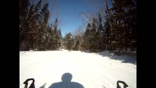 9. Grand Marais Michigan. March 16 2014. Arctic Cat ZR 9000 Limited