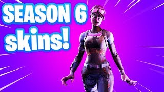 Fortnite Season 6 Battle Pass & New Skins!  (Fortnite Season 6)