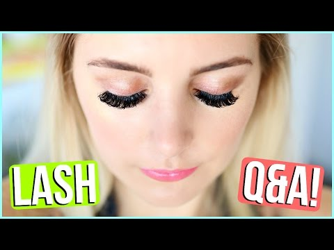 EYELASH EXTENSIONS EXPERIENCE + Q&A!