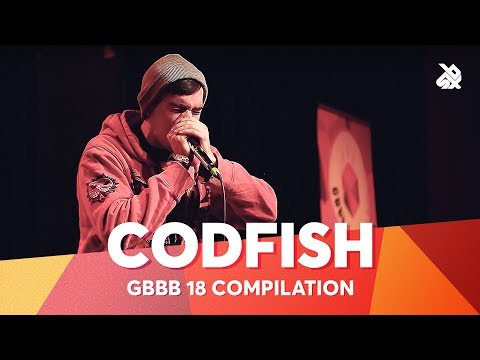 CODFISH | Grand Beatbox Battle Champion 2018 Compilation