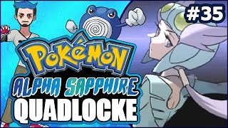 Pokémon AlphaSapphire Randomizer Quadlocke Part 35 | A FEATHER IN MY CAP by Ace Trainer Liam