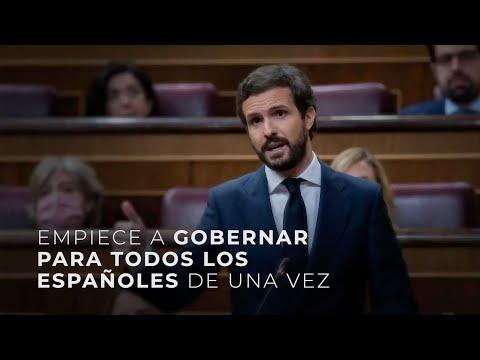 """""""Casado a Sánchez: """"""""No busque chivos expiatorios, la pelota sigue en su tejado."""""""