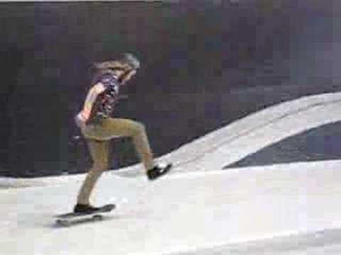 Brian Hansen démo Altamont Skatepark Paris demo skateboard