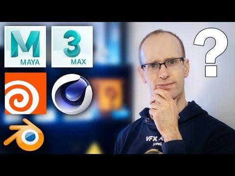 What is the BEST 3D Software? Maya vs 3dsMax vs Cinema 4D vs Houdini vs Blender
