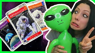 I MADE OUT WITH AN ALIEN! | Trying Astronaut Food!