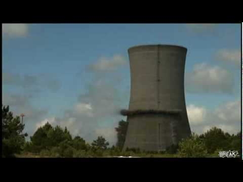 「アメリカの原子力発電所の原子炉を爆破解体したときの映像」のイメージ