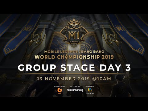 VOD MLBB World Championship 2019 Day 3 Group Stage C