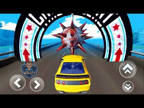 Сrazy Сars Race #3 - Impossible Track Speed Cars Bump Driving Games 13 to 15 (speed bump car drive)