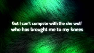 David Guetta feat. Sia She Wolf (Falling to Pieces) Lyrics Video HD