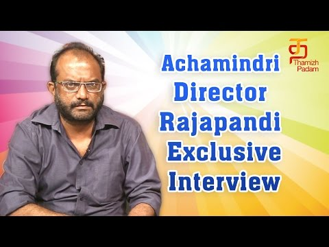 Achamindri Director Rajapandi Exclusive Interview | Vijay Vasanth | Srushti Dange