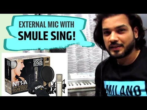 How To Use Professional Vocal Microphones With Smule