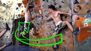 Funky 7A+ : Comp Style for Beginners | Analytic Bouldering by Mani the Monkey