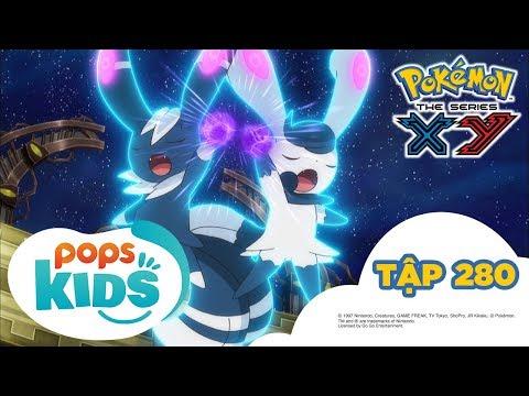 Pokémon Tập 280 -  Thi Đấu Cặp Tại Nhà Thi Đấu Hiyakoku!! - Hoạt Hình Pokémon Tiếng Việt  S18 XY - Thời lượng: 21:43.