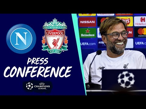 Video: Jürgen Klopp's Champions League press conference | Napoli