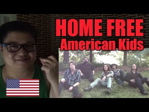 (Filipino Reaction) Kenny Chesney - American Kids l HOME FREE a cappella cover