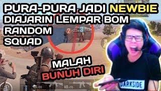 Video NYAMAR JADI NOOB PLAYER, DI AJARIN MAEN PUBGM SAMA RANDOM SQUAD !!! - PUBG MOBILE INDONESIA MP3, 3GP, MP4, WEBM, AVI, FLV Februari 2019
