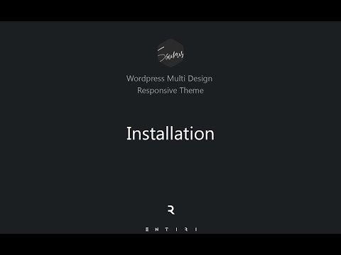 Saurus – Multi Design Responsive WordPress Theme | Installation, Demo Content Import & Setup