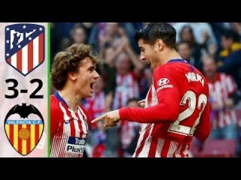 atletico madrid 3-2 valencia | HIGHLIGHT | 24 APRIL 2019 | Hasil LIga Spayol Tadi Malam