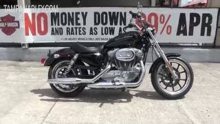 7. 2016 Harley Davidson Sportster 883 Superlow for sale ~ 2017 August