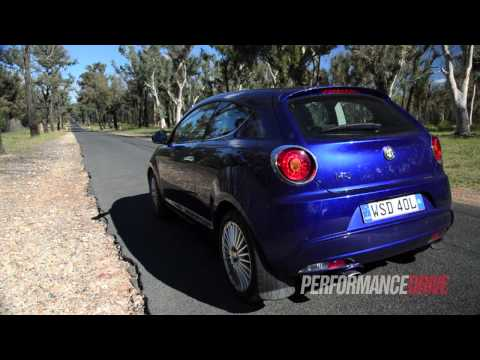 2014 Alfa Romeo MiTo Distinctive 1.4T 0-100km/h & Engine Sound