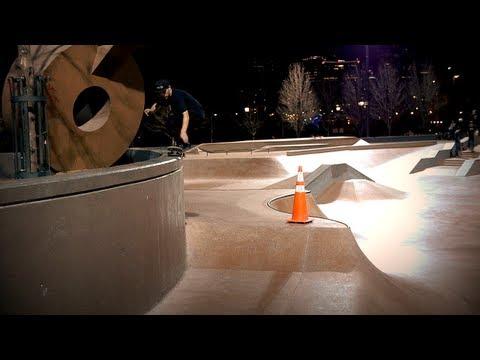 Cameron Lawrence - Denver Skatepark, CO - November 2012