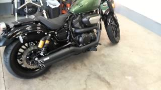 10. 2014 Yamaha BOLT Vance and Hines Twin Slash