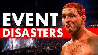 Video 10 Most Disastrous Events in MMA History MP3, 3GP, MP4, WEBM, AVI, FLV Juli 2019
