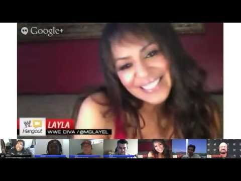WWE Hangout with special guest Layla - May 16, 2013