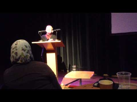 Marilyn Hacker reads at Liverpool Poetry Cafe at The Bluecoat, 25 April 2013 (3 of 7)