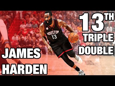 James Harden 12th Triple Double