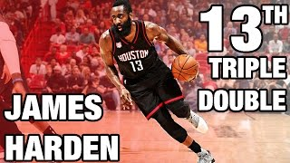 James Harden 13th Triple Double | 40 Pts, 12 Ast, 12 Reb | 01.17.17 full download video download mp3 download music download