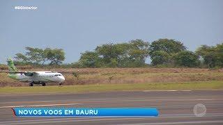 Aeroporto de Bauru tem três novos voos diários para São Paulo