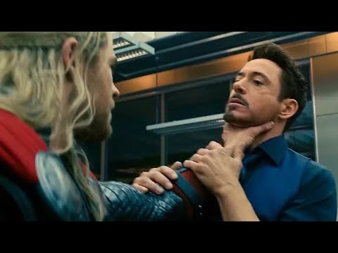 "Tony Stark ""We'll Lose"" Agument Scene - Avengers: Age of Ultron (2015)  Clip HD"